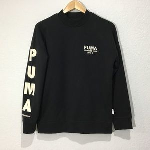 (EC) Puma International black pullover sweatshirt
